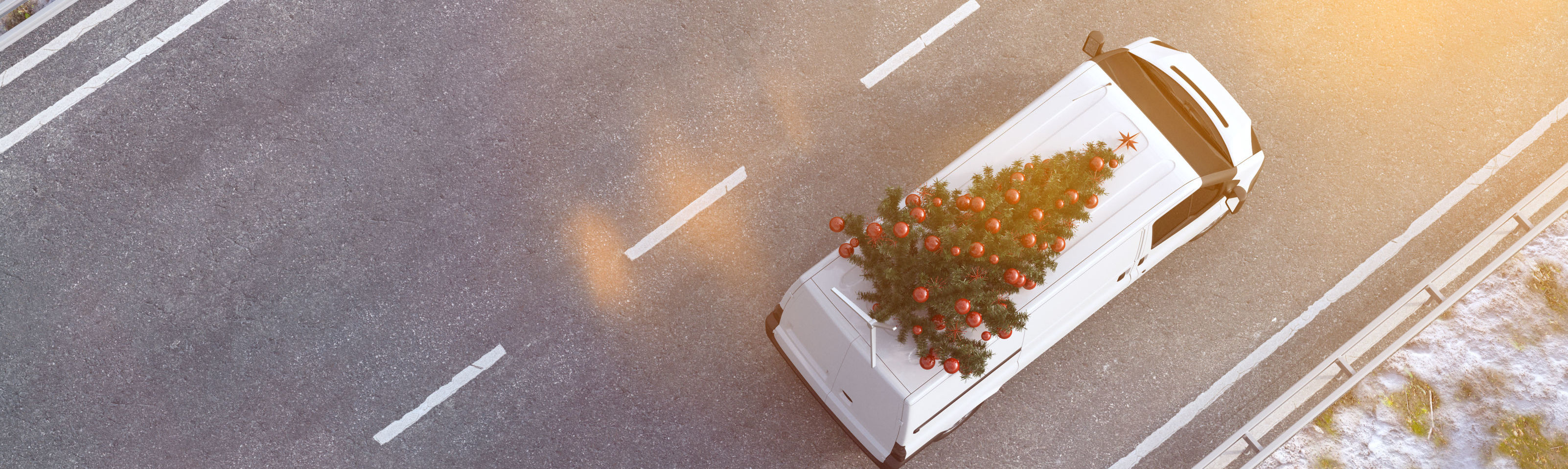 11% of us forget the presents - the facts about festive journeys