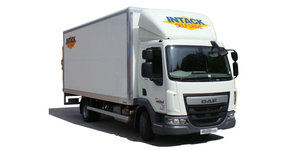 Hire 7.5 Tonne Box Van With Tail Lift | Intack Self Drive ...