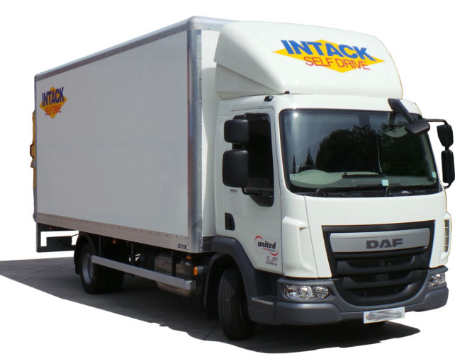 7.5 Tonne Box van with Tail Lift **SPECIAL OFFER**