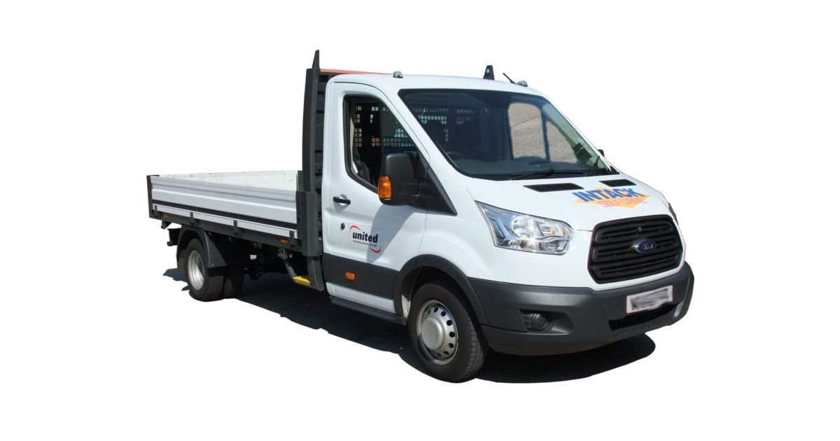 3500kg Dropside Flat Van Hire | Intack Self Drive | Blackburn
